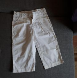 Pants for a girl of 8-9 years