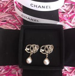 Chanel ❤️Серьгі пусети, оригінал, нові