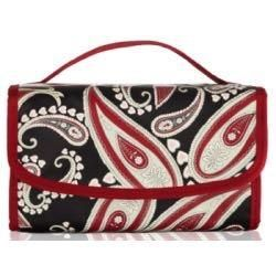 Travel folding cosmetic bag