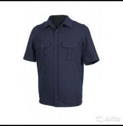 Cămașa este militară, albastră, nouă. Poarta 44-4