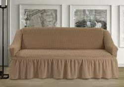? Universal sofa cover color beige