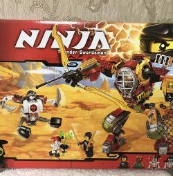 Constructor Ninjago, salvează mecanicul