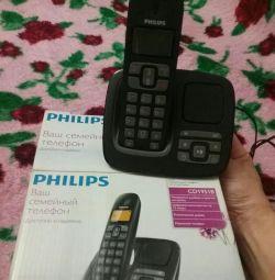 Το τηλέφωνο είναι ασύρματο.