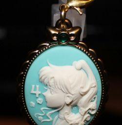 Sailor moon keychain pendant sailor moon sailor jupiter