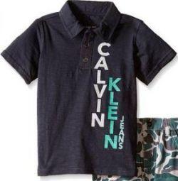 Polo Calvin Klein'ın bedenleri ve renkleri farklı, yeni