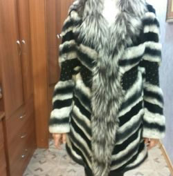 Fur coat, rm exclusive, chinchilla fur