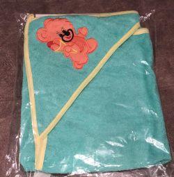 Рушник для новорождeнних