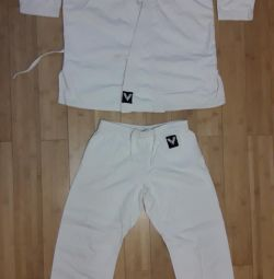 Kimono and trousers for karate