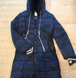 Kış için sıcak ceket 44/46