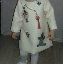 Φόρεμα ύψους μωρού 104 cm (2,5-4 ετών)