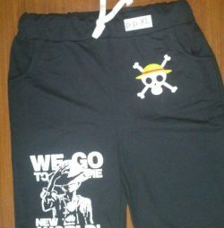 New shorts with anime symbolism