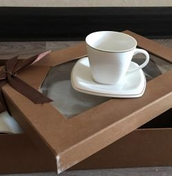 Set of 12 coffee cups