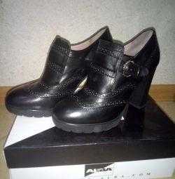 pantofi din piele ALBA