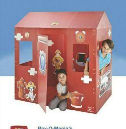 Casa modulară mică de joc 141 * 91 * 149
