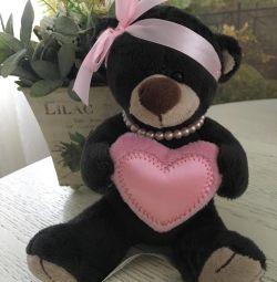 Ursul cu inima (16 cm)