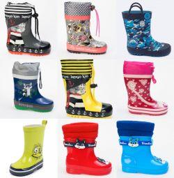 Καουτσούκ μπότες για παιδιά