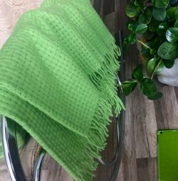 IKEA plaid 130 * 170 cm wool 100%