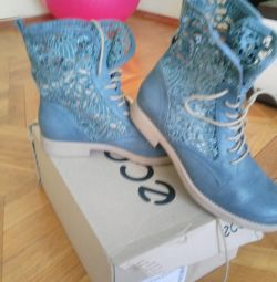Selling beautiful boots nat.kozha pr, -vo.Italiya