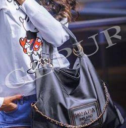 Bag of raincoat prada