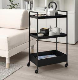 New IKEA Nissafors Trolley Shelf
