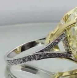 40carat heart diamond ring. GIA