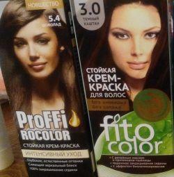 Culorile părului