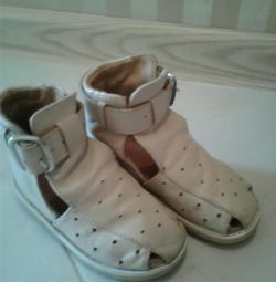 Natural orthopedic shoes
