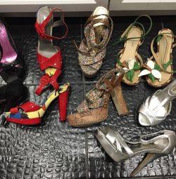 5 perechi de pantofi
