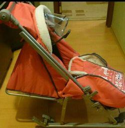 Sledge stroller