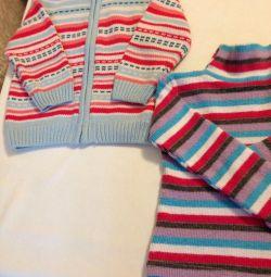 Pulover cu pulovere 80, 86/92