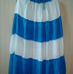Новая юбка- сарафан
