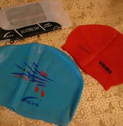 New swimming caps. For children and adults!