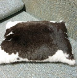 Rabbit fur pillow ?