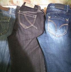 Τζιν και παντελόνια για γυναίκες. Μέγεθος 42-48.