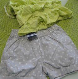 Shorts and top new KIABI