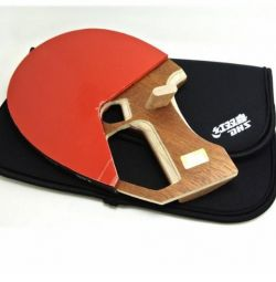 Racket for table tennis training and for professional