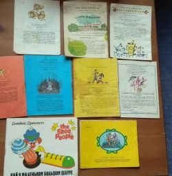 Çocuk kitapları 87-90'lı.