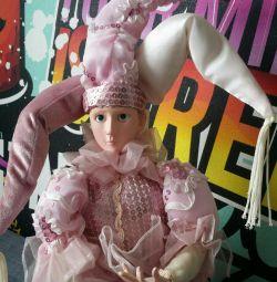 Фарфоровая кукла 13 музыкальная