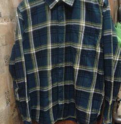Ζεστό πουκάμισο για αγόρια