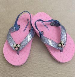Beautiful slippers / slates
