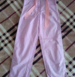 Pantaloni pentru o fată