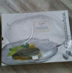 Placă mare de pește