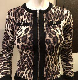 Pulover Karen Millen New leopard cardigan 42-44 R