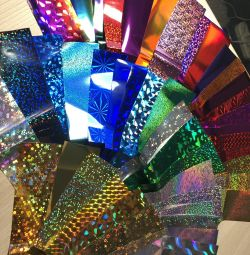 Foil for nail design more than 50 sheets