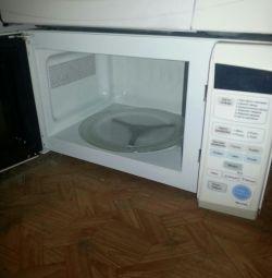 microwave samsung. warranty