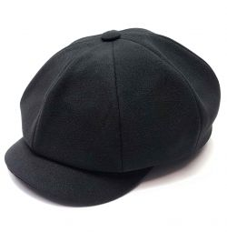 Cap gavroche eight-blade man's LF black