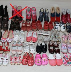 Χειμερινά παπούτσια, ημι-σεζόν και καλοκαίρι για κορίτσια