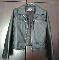 brand new leather jacket wasot (large)