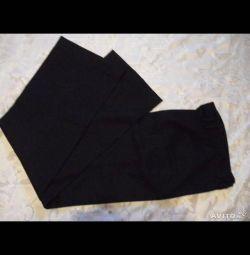 Μάλλινο νέο μαλλί παντελόνι & XS βαμβάκι