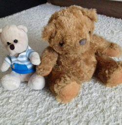 Teddy bears soft toys